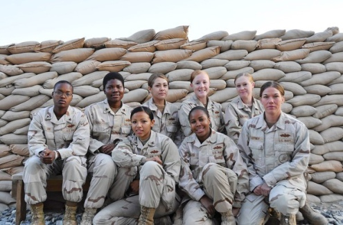 First Female Seabee Team