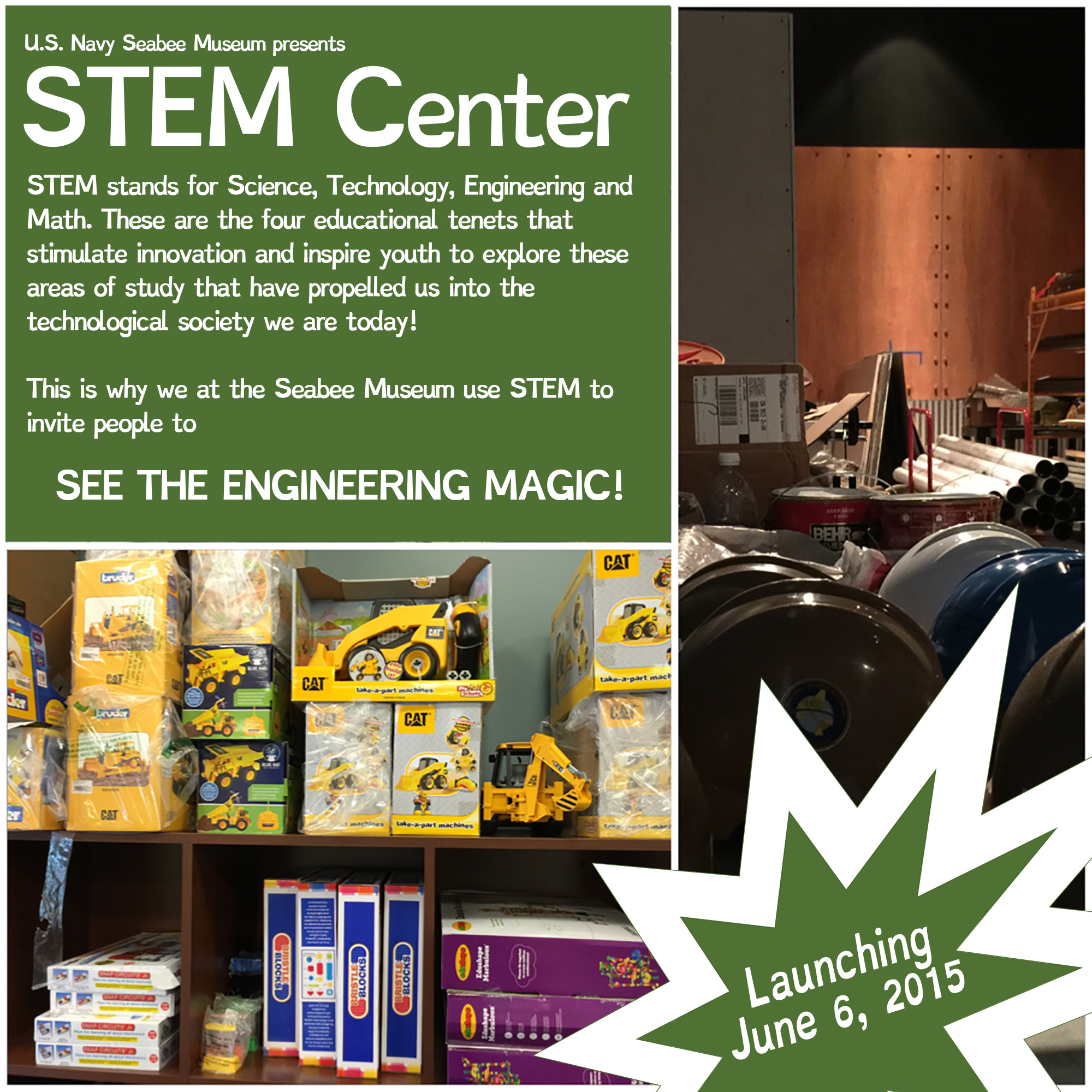 Ag Is Stem Home: Youth Education Programs « U.S. Navy Seabee Museum