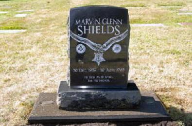 shields gravestone