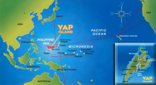 CC Jan Robyn Photo 2- Map of Yap
