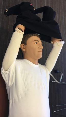 Dressing the mannequins