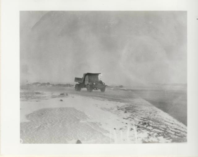 Iceland snow truck