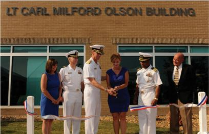 Dedication of the Lt. Carl Milford Olson Building at JEB Little Creek-Fort Story, Virginia