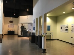 View of the CEC exhibit including early CEC to the attack on Pearl Harbor.