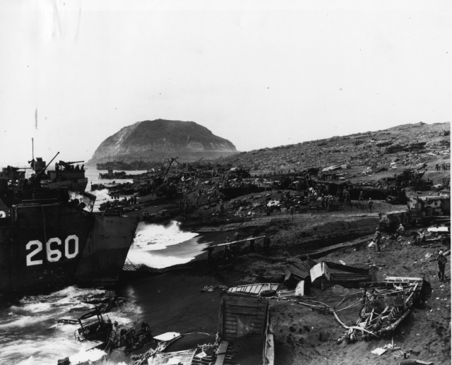 Iwo Jima Beach Area