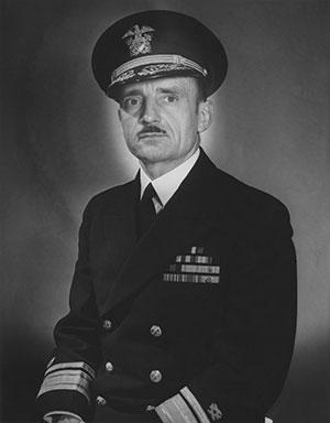 Rear Adm. Lewis B. Combs, CEC, USN, 1895-1996.